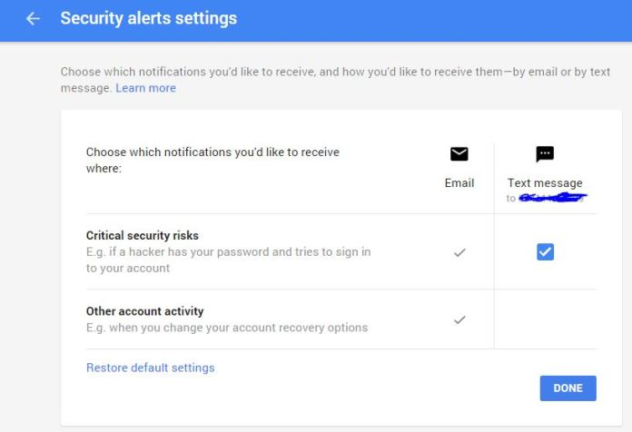 How to Enable setting for Gmail account to get protected from hackers