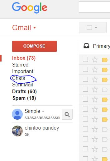 How to forward Gmail Chat to Other users.