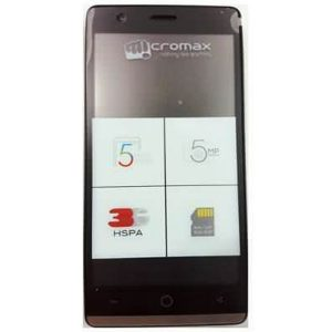 Micromax Bolt Q381 Smartphone Full Specification