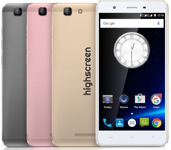 Highscreen Tasty Smartphone Full Specification