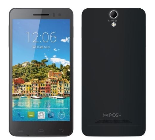 Posh Titan Max HD E550 Smartphone Full Specification