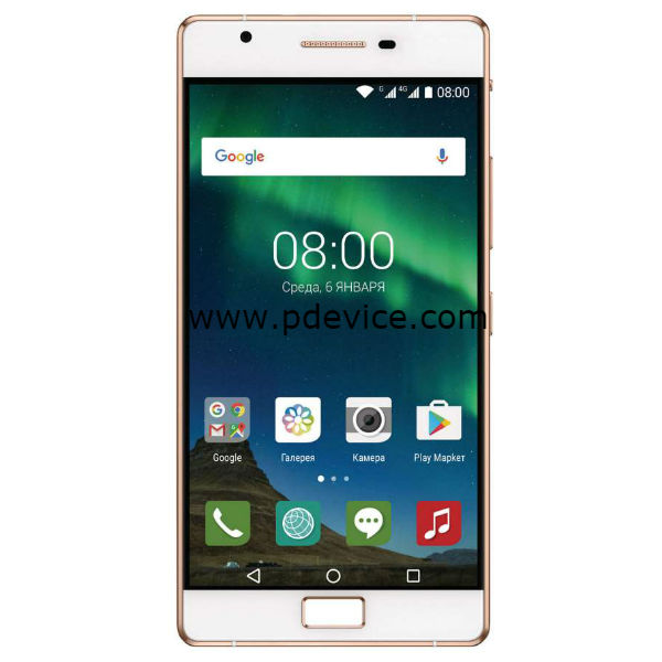 Philips X818 Smartphone Full Specification