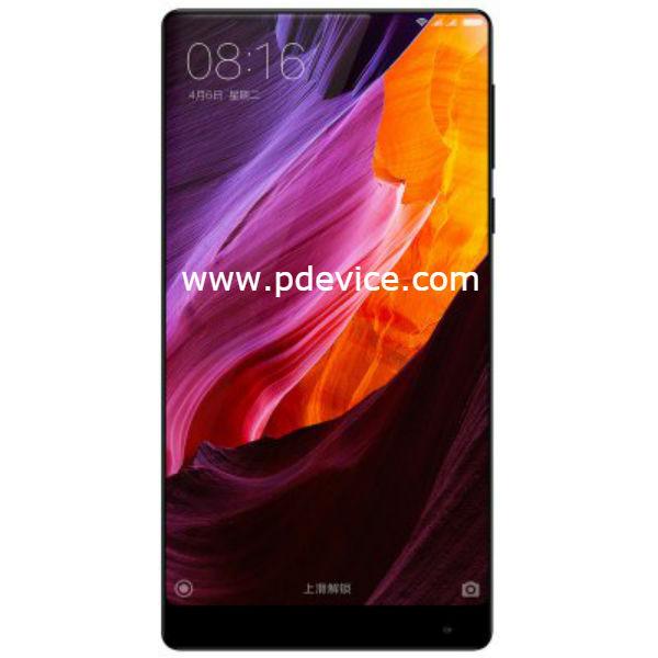 Xiaomi Mi Mix Exclusive Edition Smartphone Full Specification