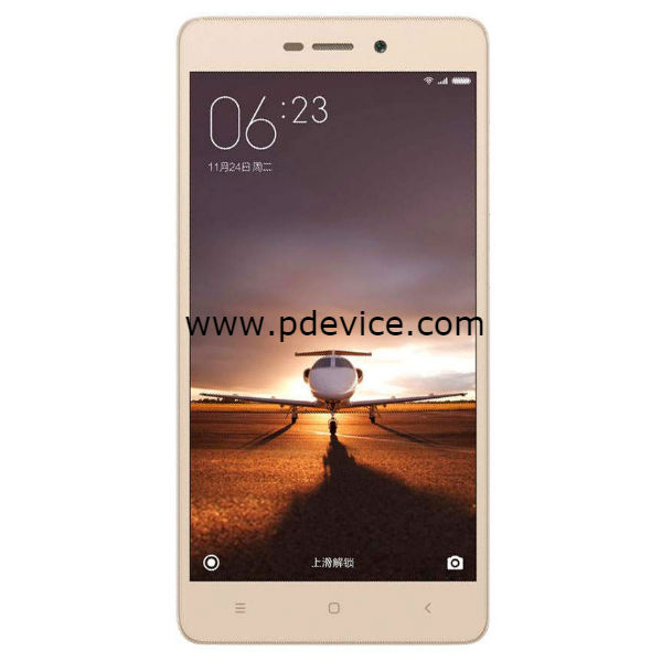 Xiaomi Redmi 3S Plus Smartphone Full Specification