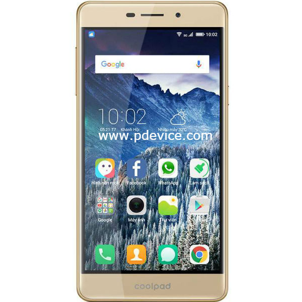 Coolpad Mega 3 Smartphone Full Specification