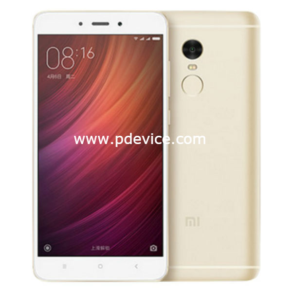 Xiaomi Redmi 4 High Version Smartphone Full Specification