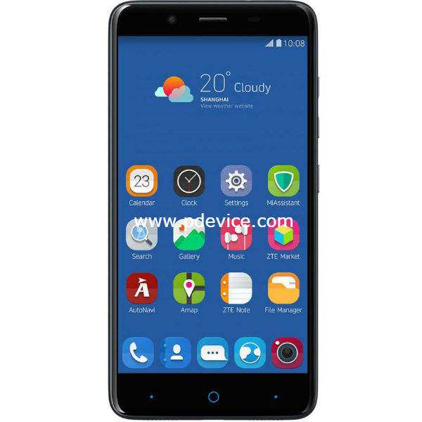ZTE Max Duo LTE Smartphone Full Specification
