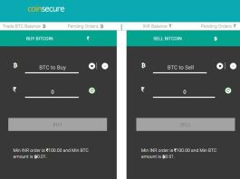 Buy bitcoin from Coinsecure