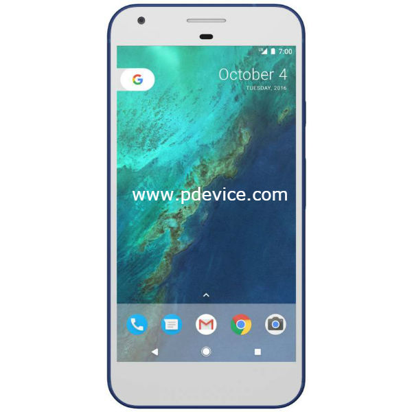 Google Pixel XL Smartphone Full Specification