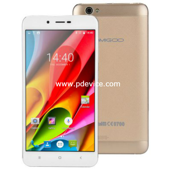 Amigoo X15 Smartphone Full Specification