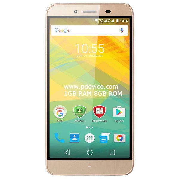 Prestigio Grace Z3 Smartphone Full Specification