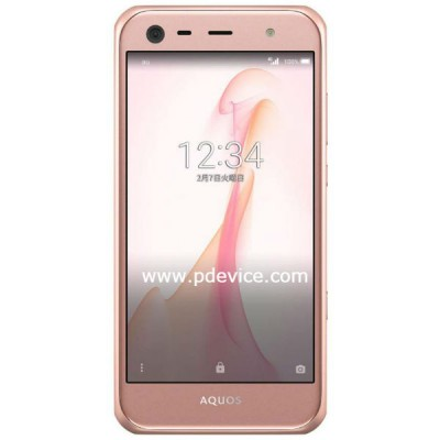 Sharp Aquos Serie Mini SHV38 Smartphone Full Specification