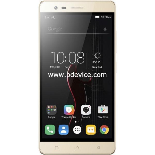 Lenovo Vibe K5 Note 64GB Smartphone Full Specification
