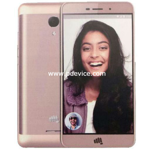 Micromax Vdeo 1 Smartphone Full Specification