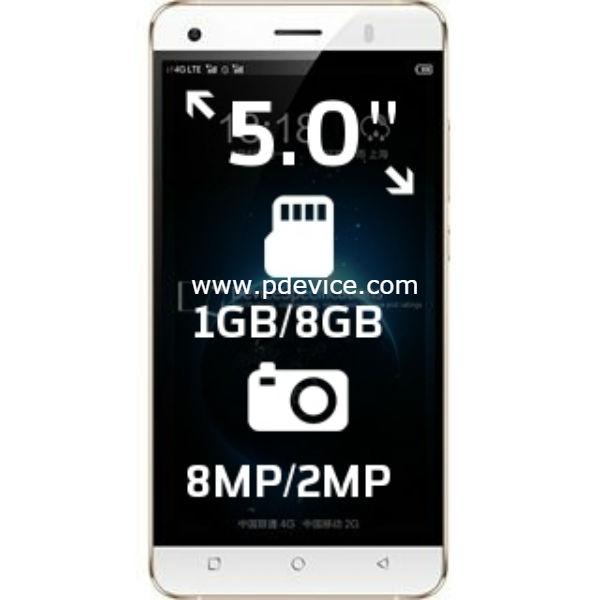 Phicomm Dragon 6Plus Smartphone Full Specification