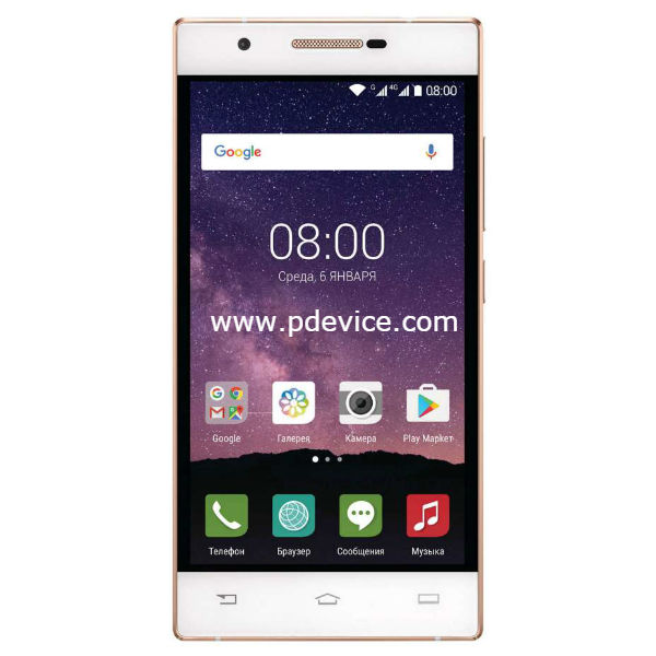 Philips X586 Smartphone Full Specification