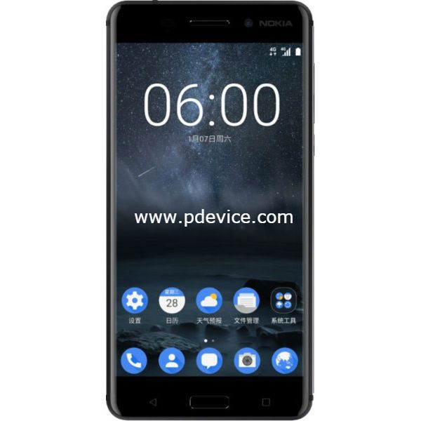 Nokia 6 B20 Smartphone Full Specification