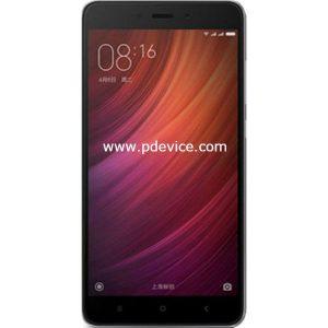 Xiaomi Redmi Note 4 4GB 64GB Smartphone Full Specification