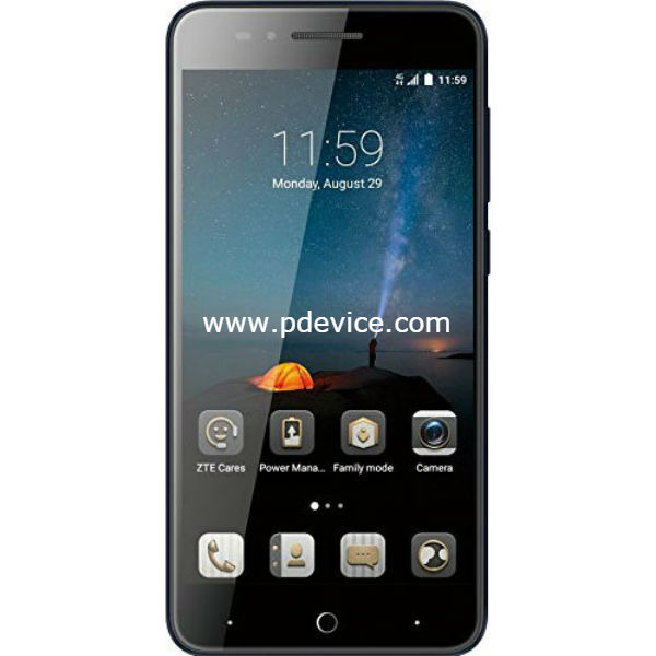 ZTE Blade A612 Smartphone Full Specification