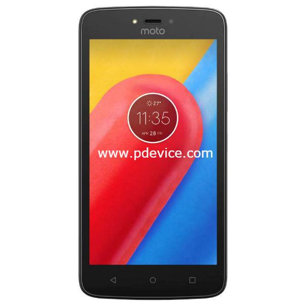 Motorola Moto C 4G Smartphone Full Specification