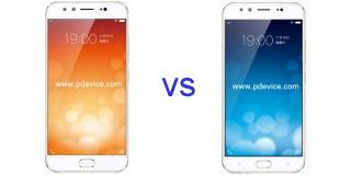 Vivo X9 vs Vivo V5 Plus