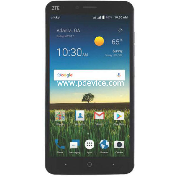 ZTE Blade X Max Smartphone Full Specification