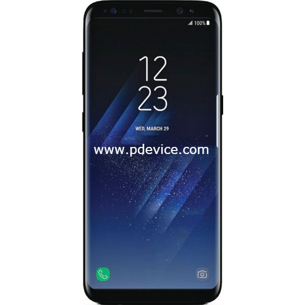 Samsung Galaxy S8 Plus G955FD Dual SIM 128GB Smartphone Full Specification