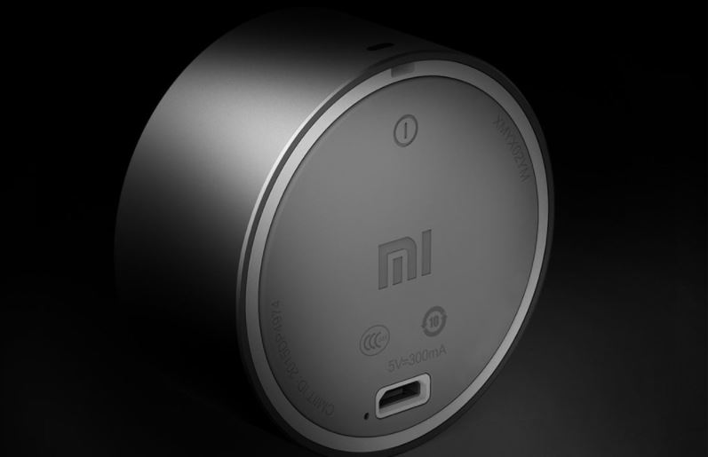 Xiaomi Mi Bluetooth 4.0 Speaker Back Design