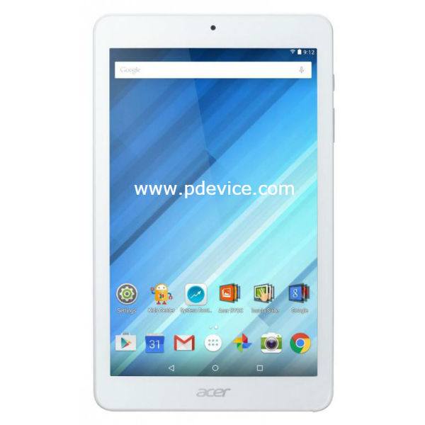 Acer Iconia One 8 B1-860 Tablet Full Specification