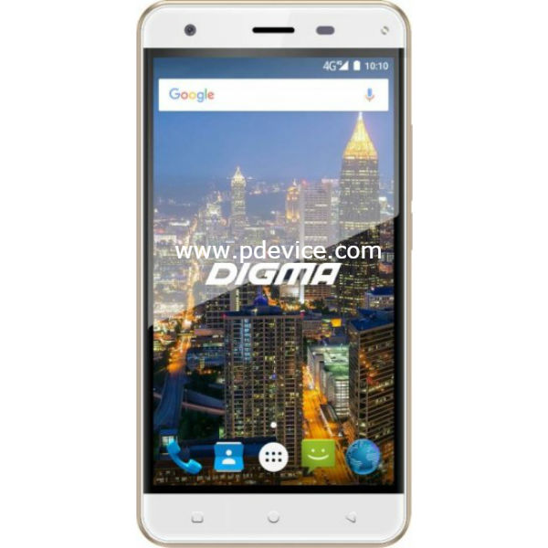 Digma CITI ATL 4G Smartphone Full Specification