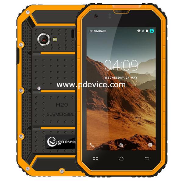 Gooweel GW6000 Smartphone Full Specification