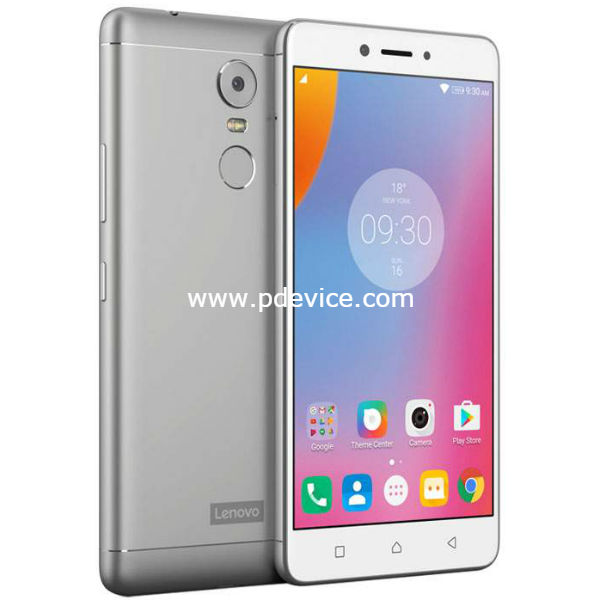 Lenovo K6 Note Smartphone Full Specification