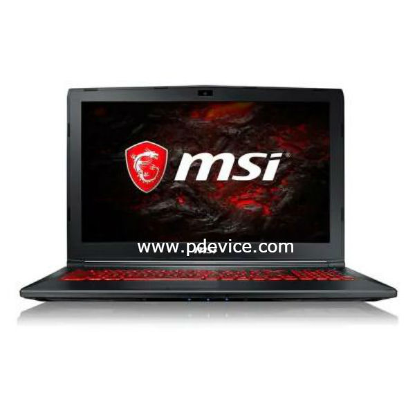 MSI GL62M 7RDX-1642CN Gaming Laptop Full Specification