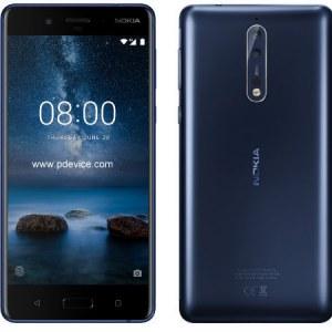 Nokia 8 Smartphone Full Specification