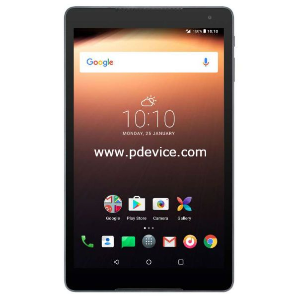 Alcatel A3 10 Wi-Fi Tablet Full Specification