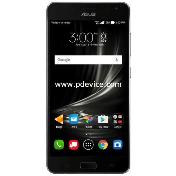 Asus ZenFone AR (Verizon) V570KL Smartphone Full Specification