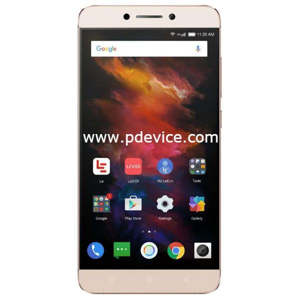 LeEco Le S3 X626 Smartphone Full Specification