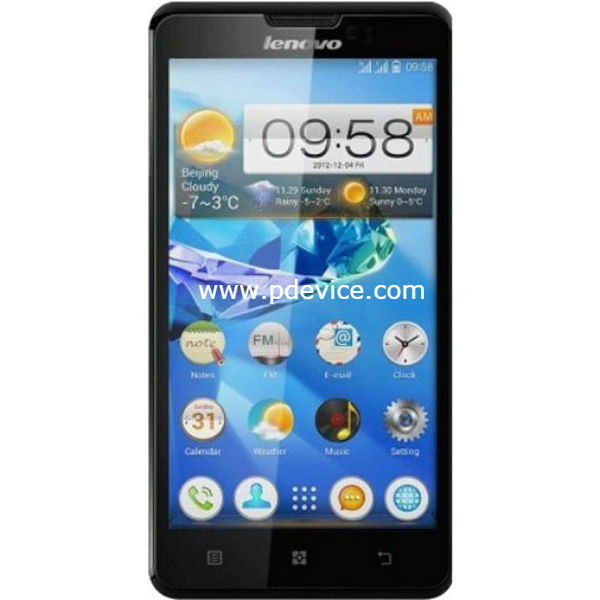 Lenovo P780 Smartphone Full Specification