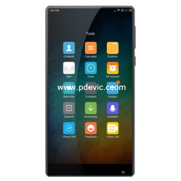 Xiaomi Mi MIX International Version Smartphone Full Specification