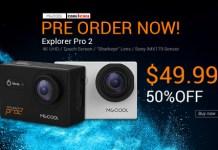 MGCOOL 4K Action Camera Explorer Pro 2