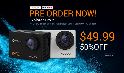 MGCOOL 4K Action Camera Explorer Pro 2
