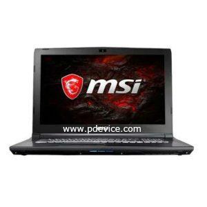 MSI GL72M 7REX-817CN Gaming Laptop Full Specification