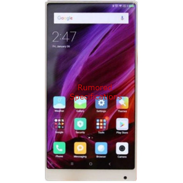 Xiaomi Chiron Smartphone Full Specification