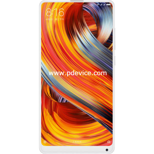 Xiaomi Mi MIX 2 Special Edition Smartphone Full Specification