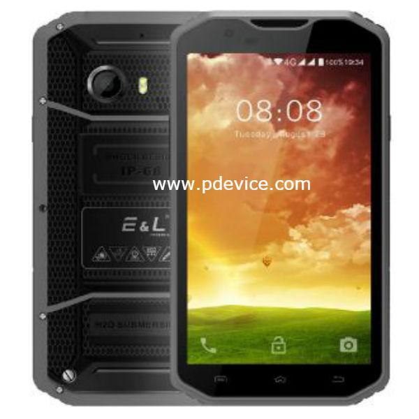 E&L W8 Smartphone Full Specification
