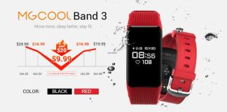 GearBest Offers - MGCOOL Band 3 Available at Low Price