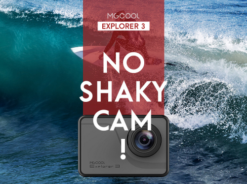 No More Shaky Cam! Meet MGCOOL Explorer 3 Action Camera