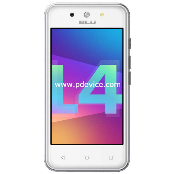 BLU Dash L4 LTE Smartphone Full Specification