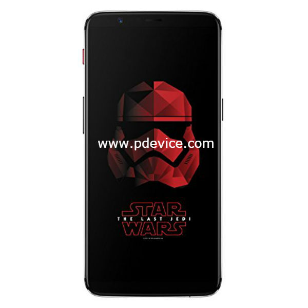 OnePlus 5T Star Wars Limited Edition Smartphone Full Specification
