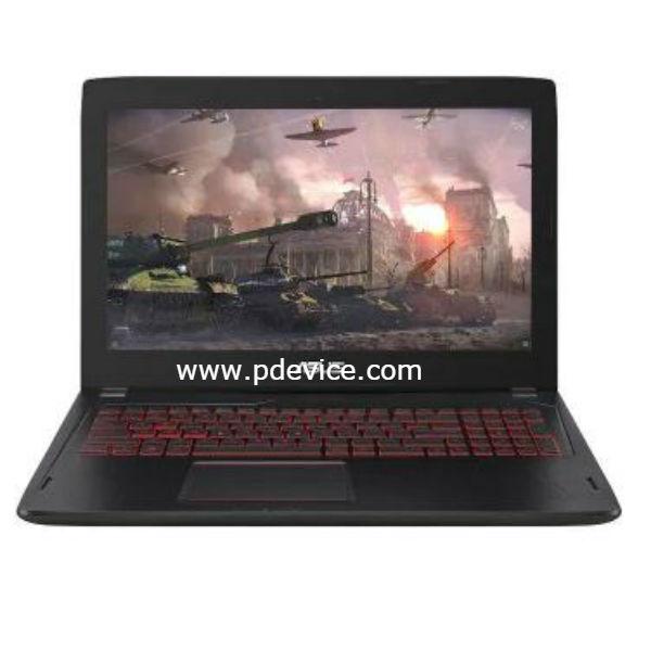 ASUS FX60VM6700 Gaming Laptop Full Specification